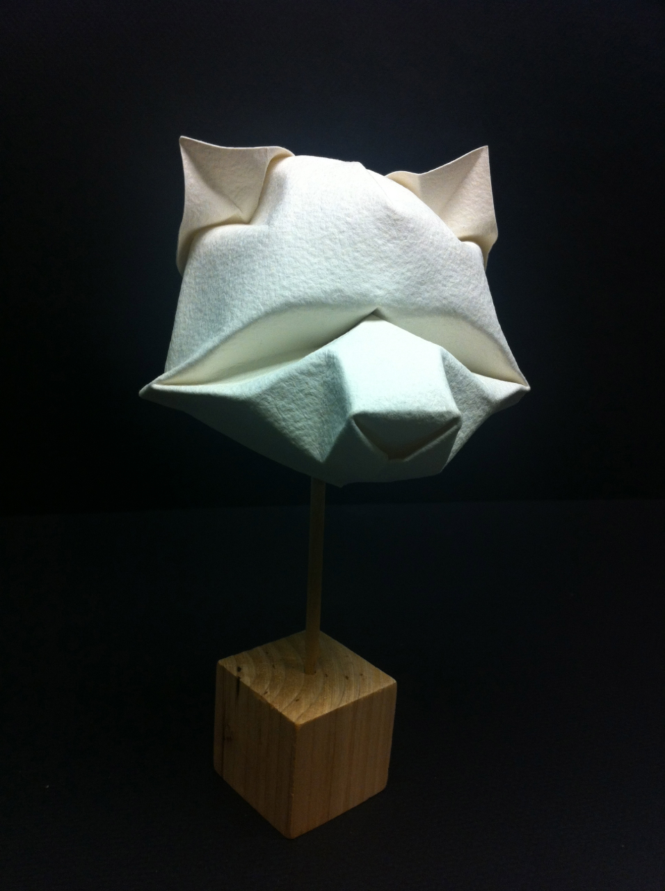 origami human face instructions